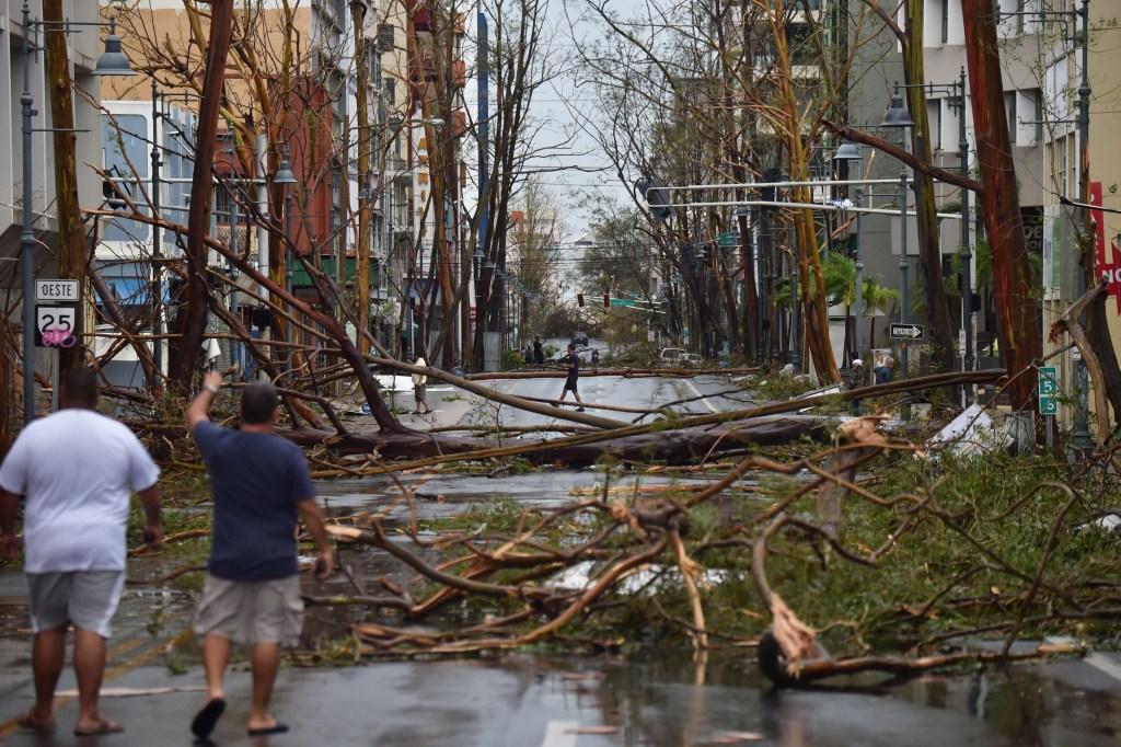 Hurricane Maria Lashes Puerto Rico Storm Battered Caribbean Nbc News