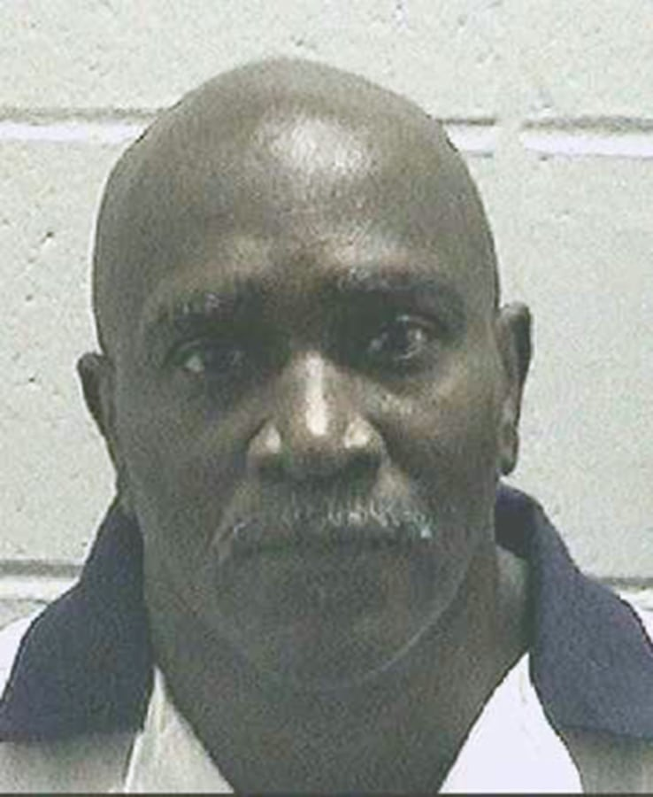Image: Keith Tharpe in an undated booking photo