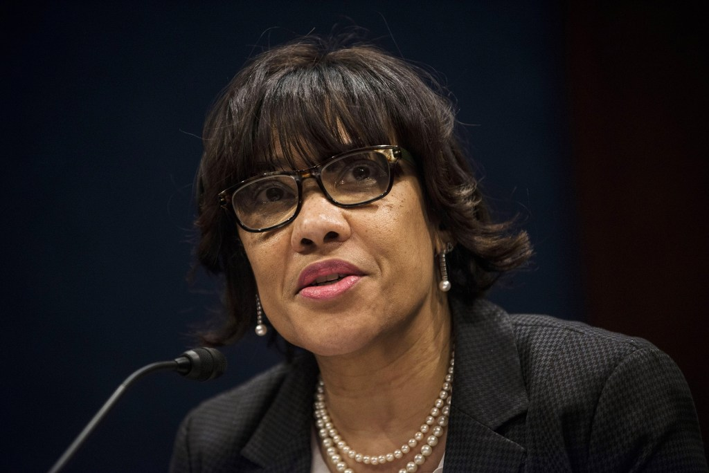 Image: Flint, Michigan Mayor Karen Weaver testifies before the House Democratic Steering & Policy Committee