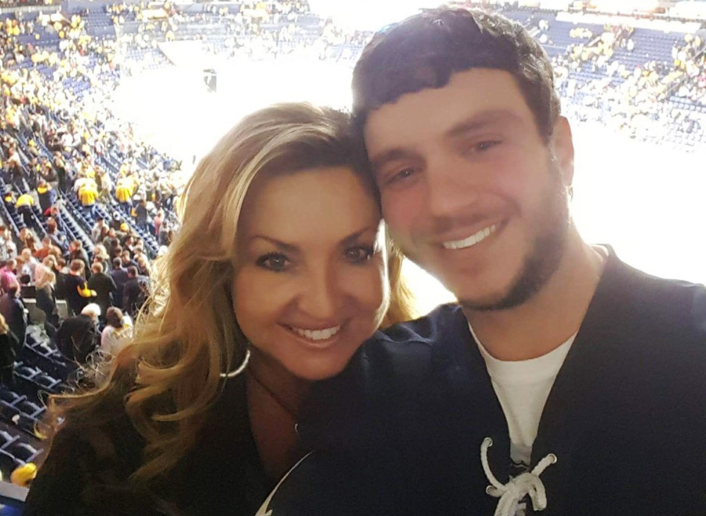 Image: Sonny Melton with his wife Heather Melton