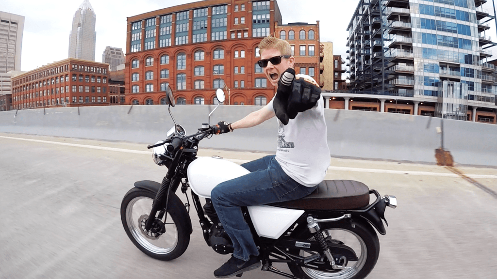 Cleveland Cyclewerks found Scott Colosimo want to bring American manufacturing jobs back from Asia.