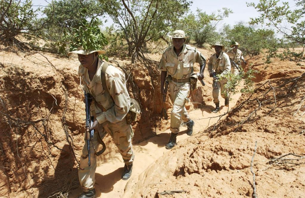 IMAGE: Marines train Nigeriens