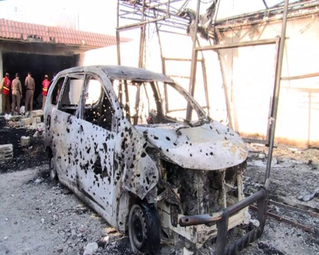 Image: Saudi raid on ISIS