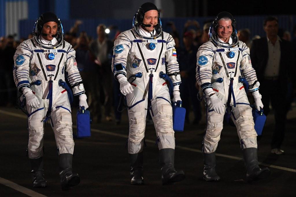 Image: ISS Astronauts
