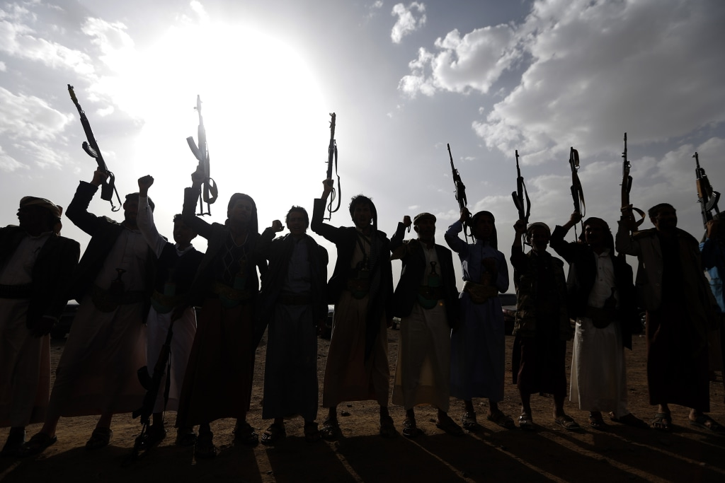 Image: Yemeni Houthi rebels