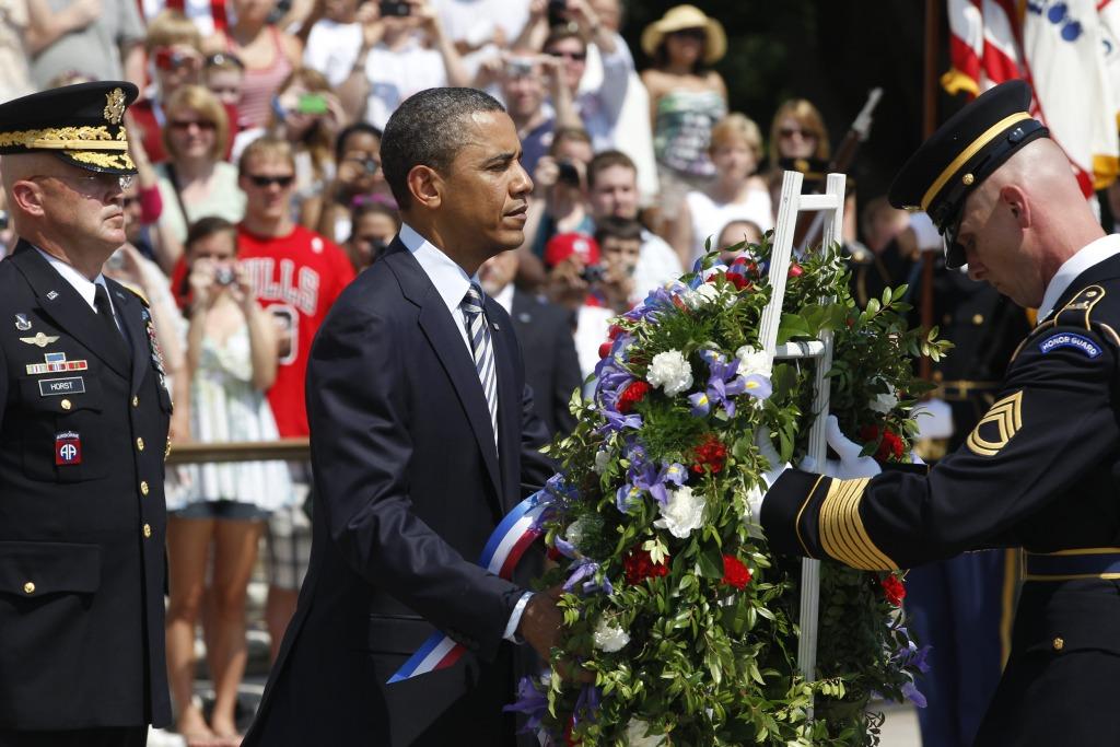 Image; Barack Obama, Karl Horst