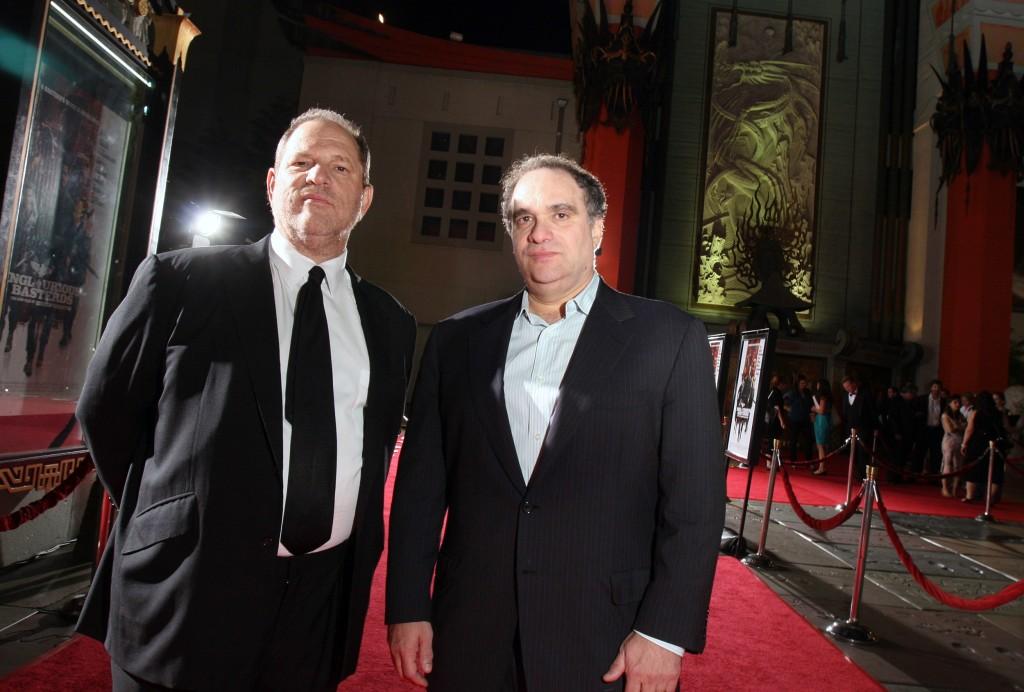 Image: Bob and Harvey Weinstein