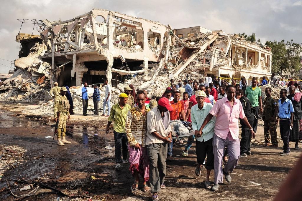 Image: *** BESTPIX *** SOMALIA-BOMBING-CONFLICT