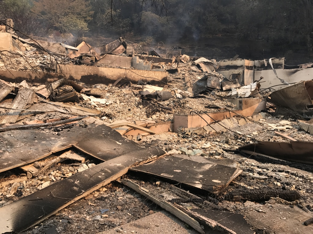Image: Aftermath of Wildfire