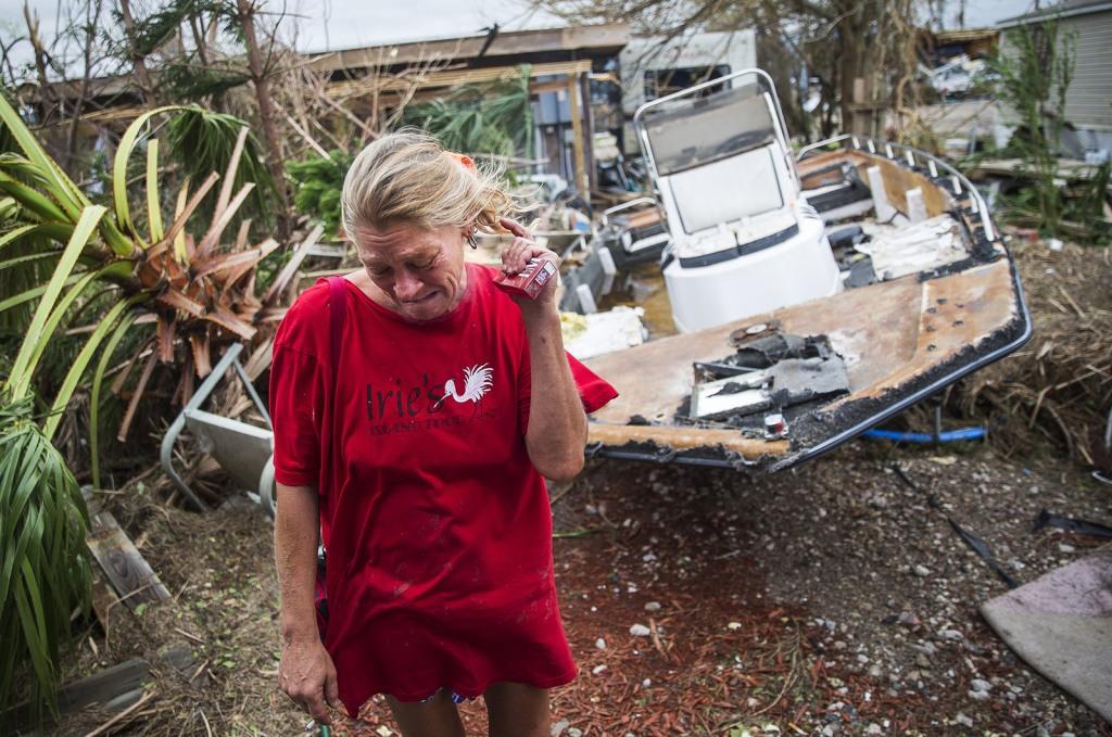 Image: Damaged home in Port Aransas
