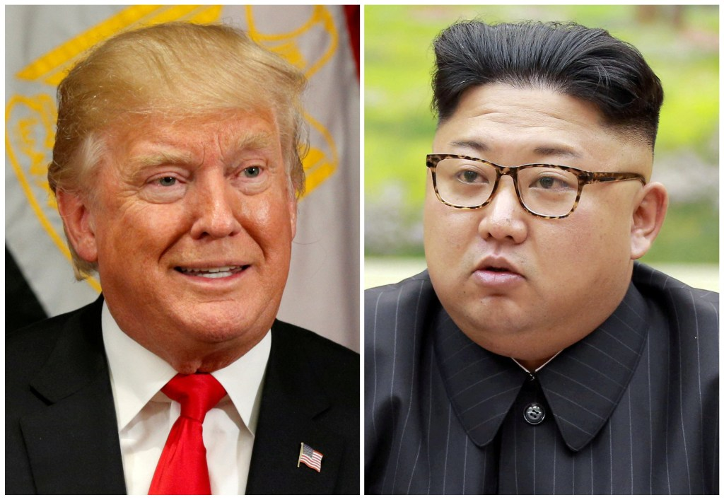Image: Donald Trump and Kim Jong Un