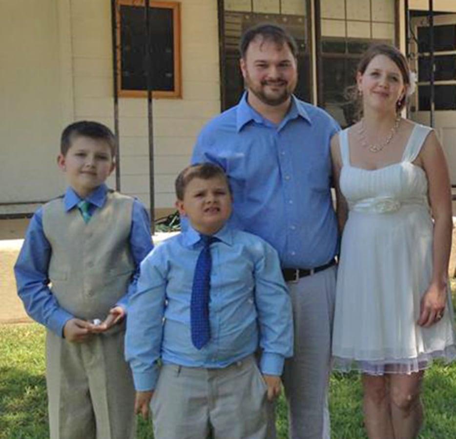 Image: Holcombe family