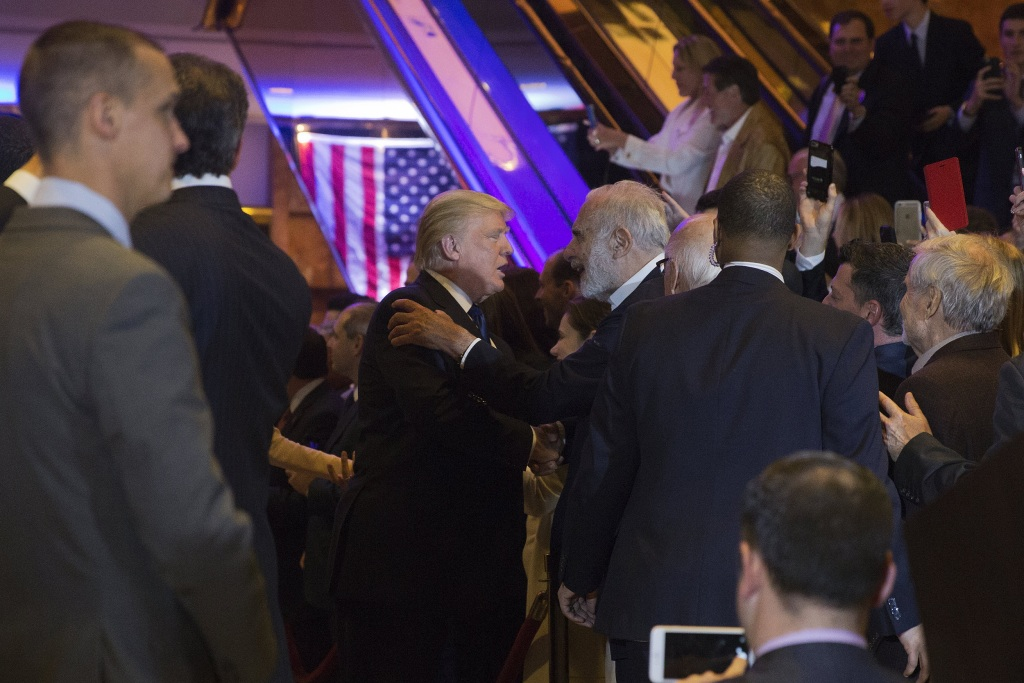 Presidential Candidate Donald Trump Speaks At New York Election Night Event