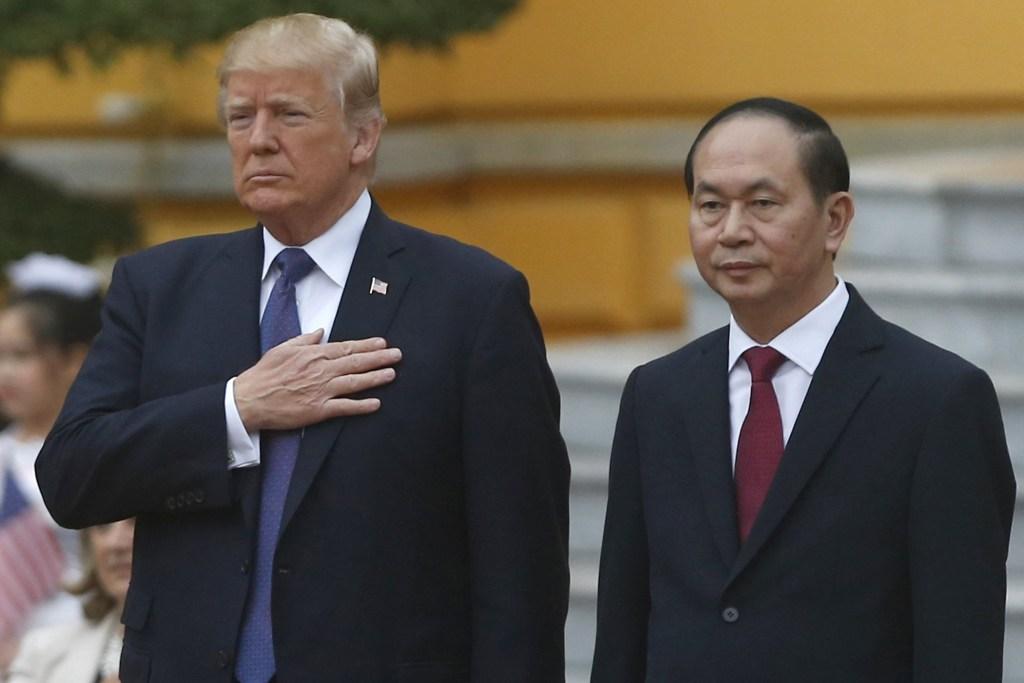 Image: Donald Trump and Tran Dai Quang