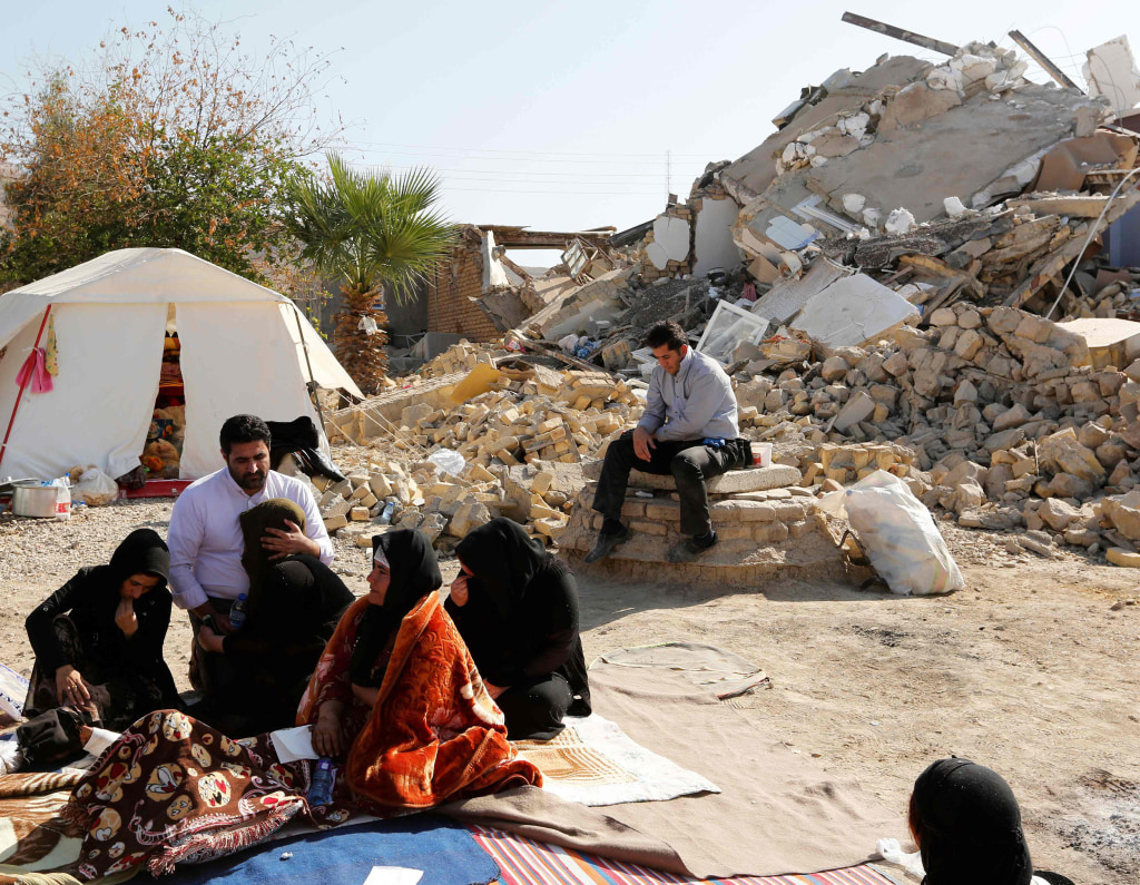 Image: Iran Earthquake
