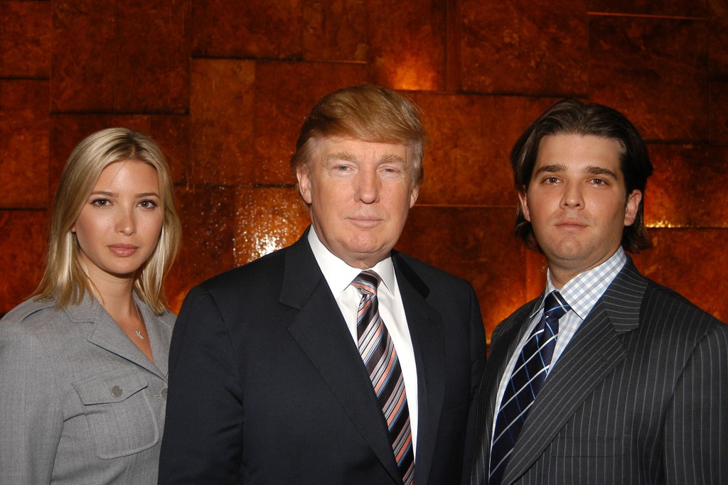 Image: Ivanka Trump, Donald Trump, Donald Trump and Jr. attend the launch of  Trump Ocean Club, International Hotel & Tower