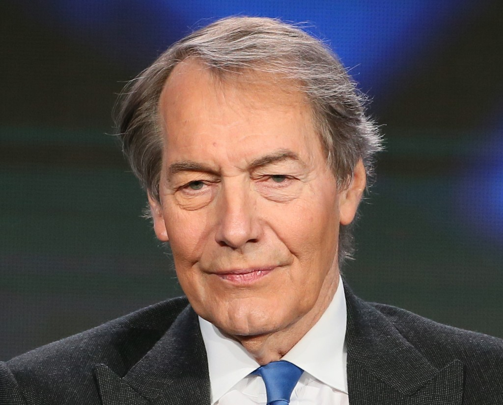 Image: Charlie Rose speaks during the 2015 Winter TCA Tour