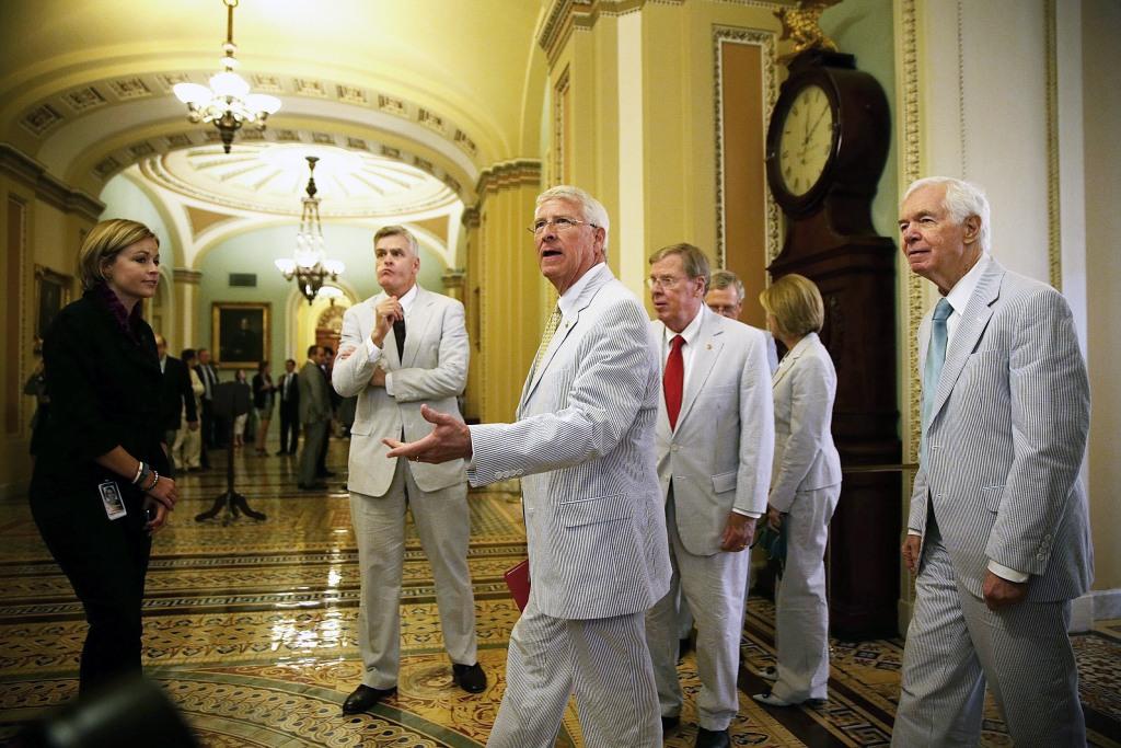 Lawmakers Don Seersucker Attire For National Seersucker Day