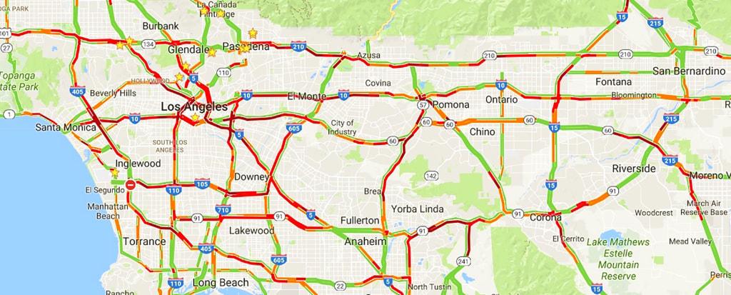IMAGE: Los Angeles traffic