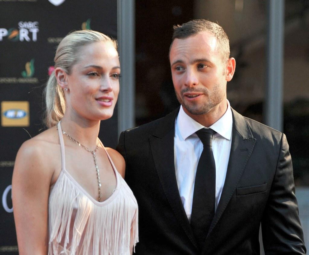 Image: Oscar Pistorius and Reeva Steenkamp