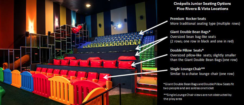 Image Cinepolis Junior Seating Options At Pico Rivera And Vista Locations