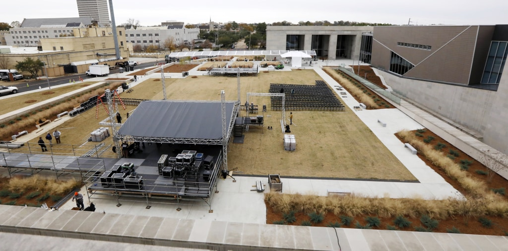 Image: Museum of Mississippi History and the Mississippi Civil Rights Museum on Dec. 7, 2017 in Jackson, Mississippi