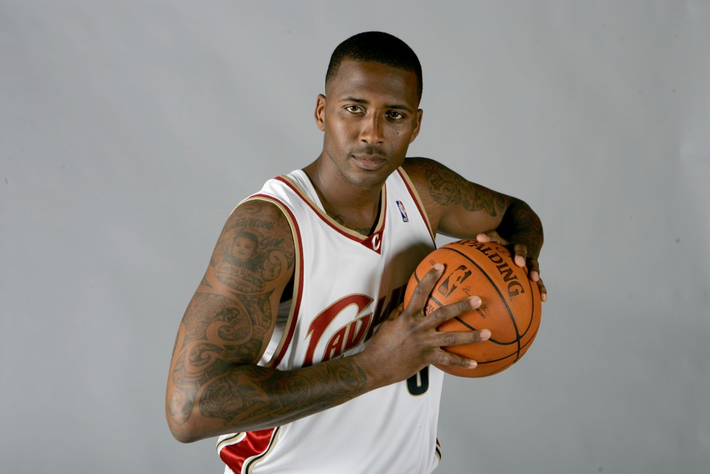 Image: Cleveland Cavaliers' Lorenzen Wright at the team's media day on Sept. 29, 2008, in Independence, Ohio.