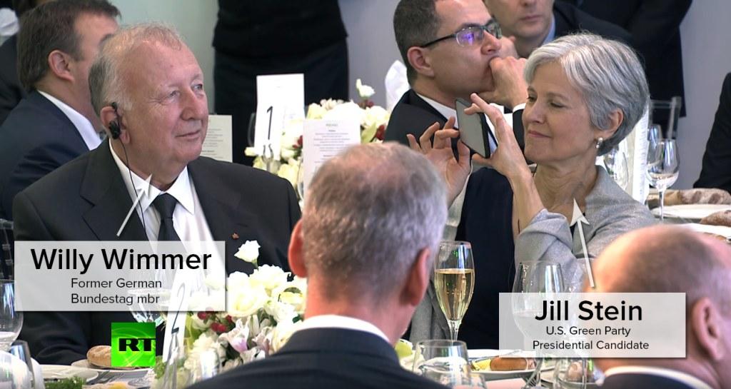 Willy Wimmer, Jill Stein