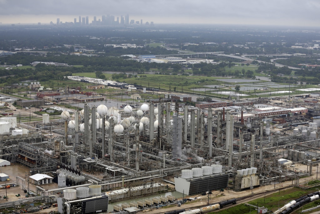 Image: TPC petrochemical plant