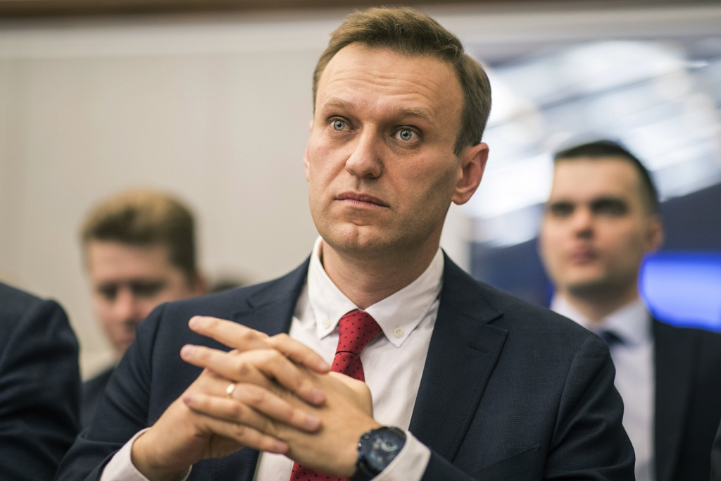 Image: Russian opposition leader Alexei Navalny