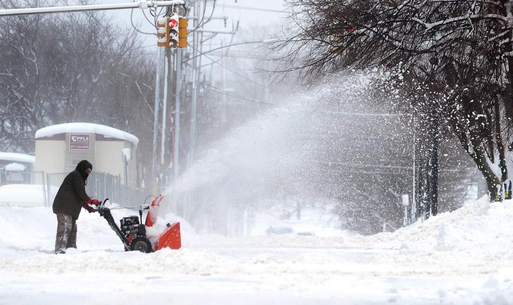 Image: Record Snowfall