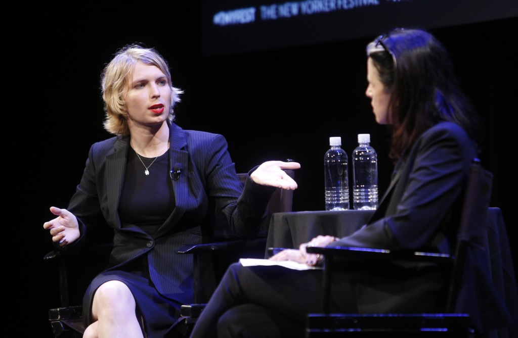 Image: The 2017 New Yorker Festival - Chelsea Manning Talks With The New Yorker's Larissa MacFarquhar