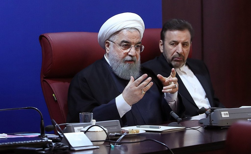 Image: President Hassan Rouhani