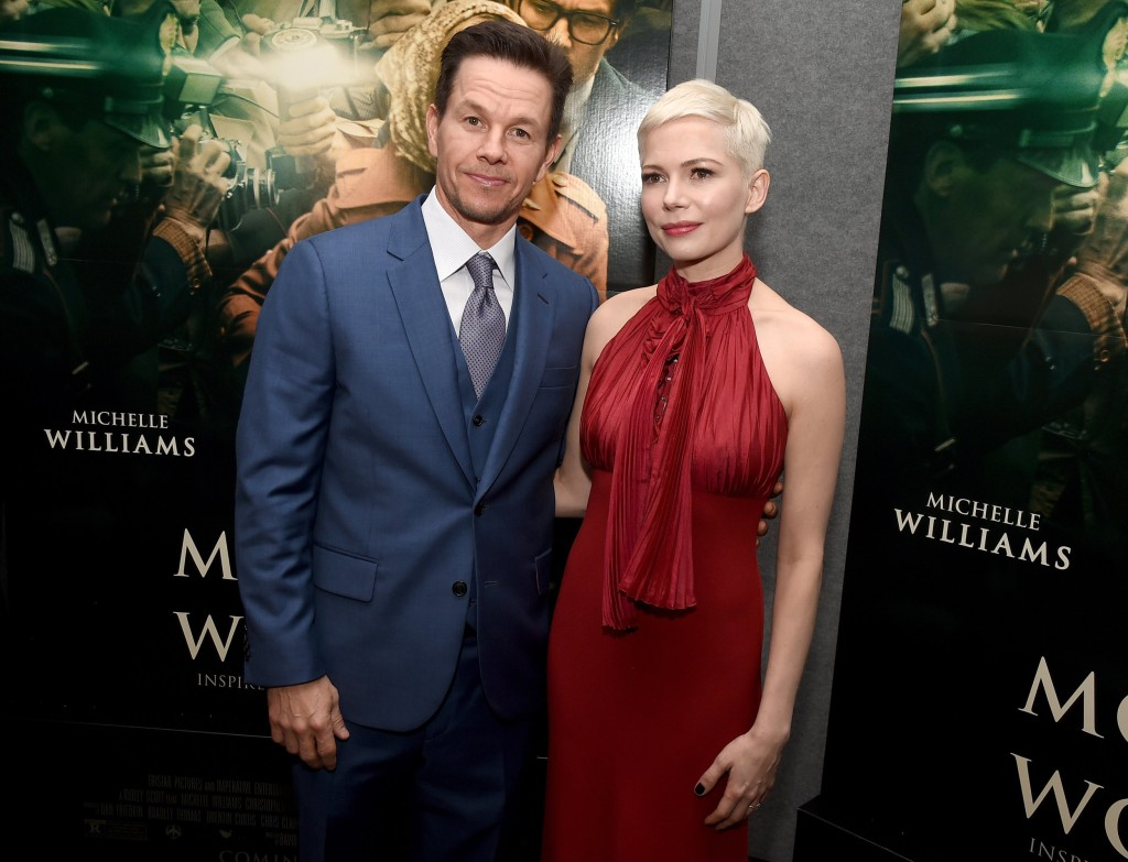 Image: Mark Wahlberg and Michelle Williams