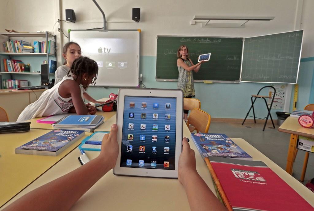 Image: Elementary school children