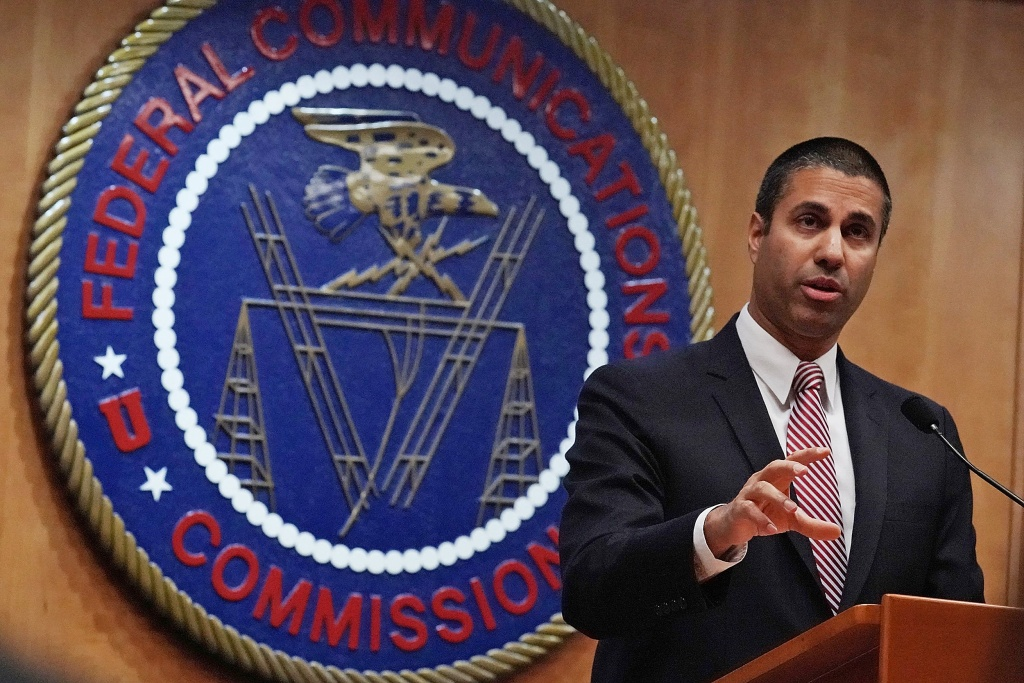 Image: FCC Holds Vote On Repeal Of Net Neutrality Rules