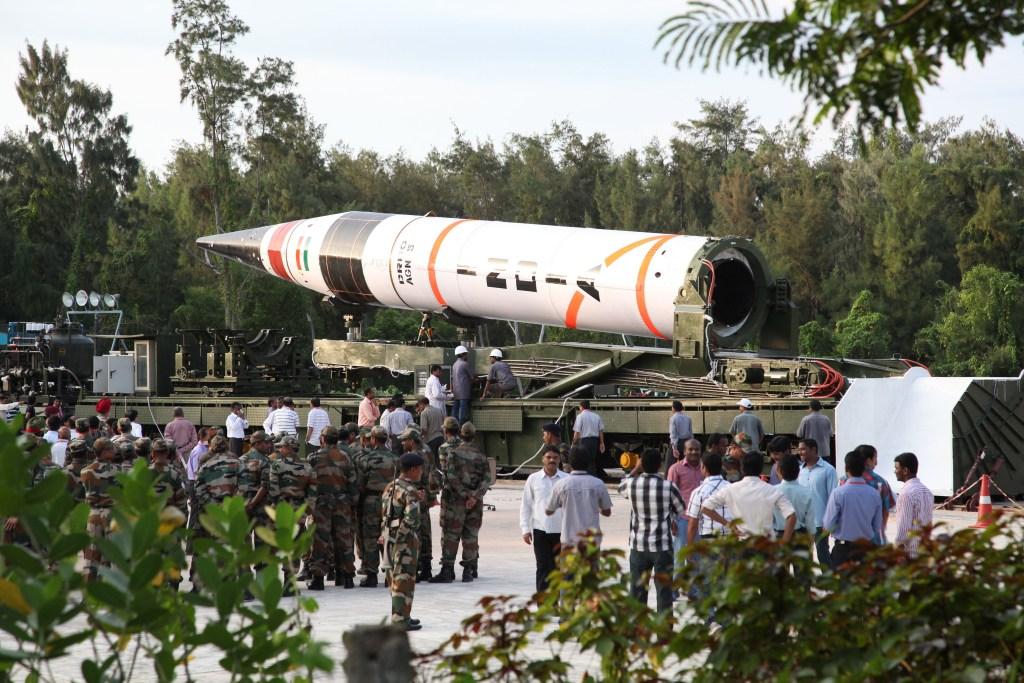 Image: Agni-V Missile