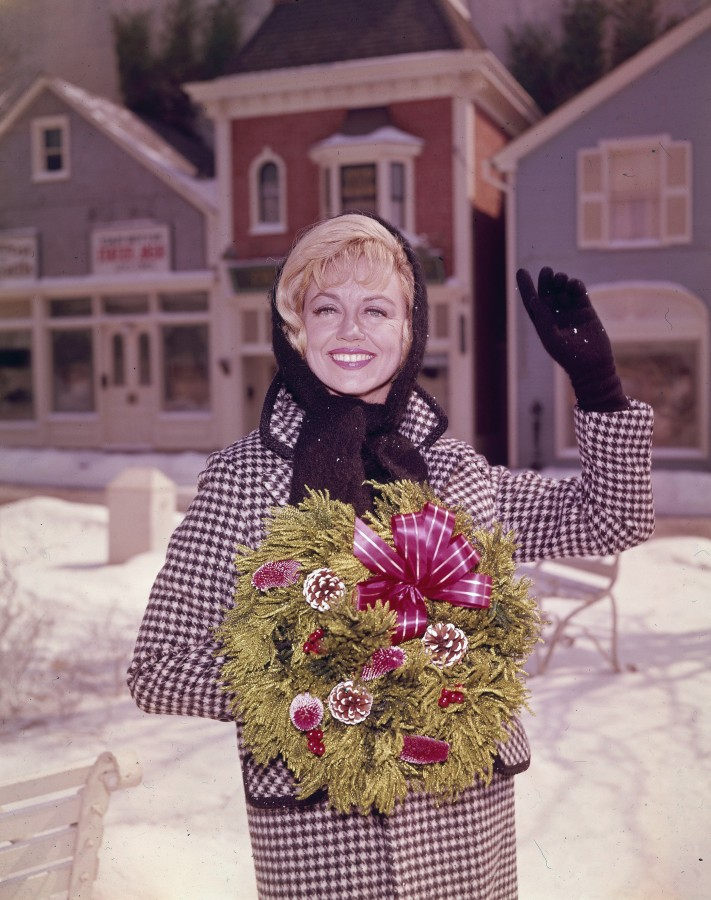 Image: Dorothy Malone on Peyton Place, circa 1965.