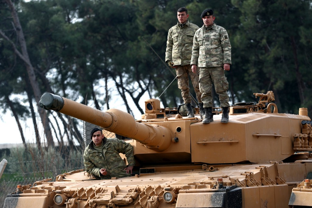 Turkish troops attack Kurdish enclave in northern Syria ...