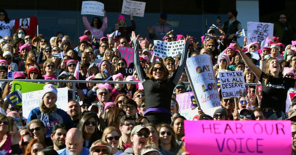 Image: Women's March in Las Vegas