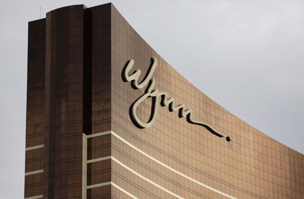 Image: The Wynn Las Vegas hotel and casino
