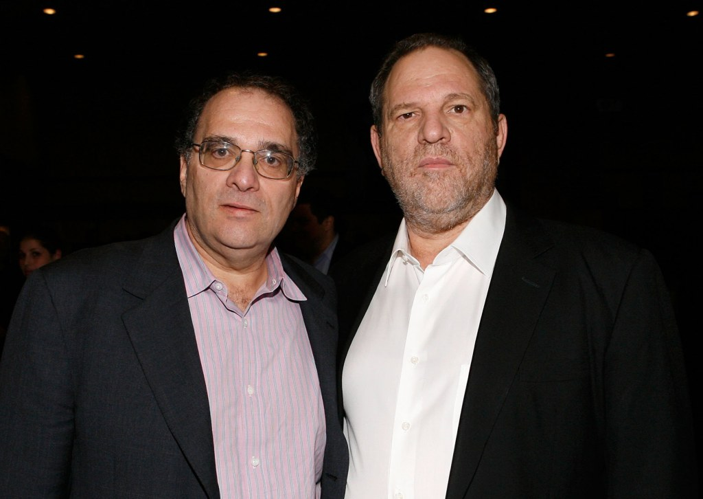 Image: Bob Weinstein and Harvey Weinstein