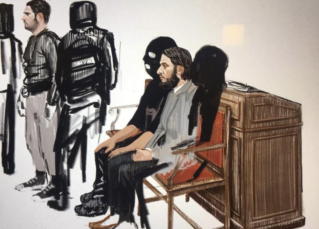 Image: Salah Abdeslam trial