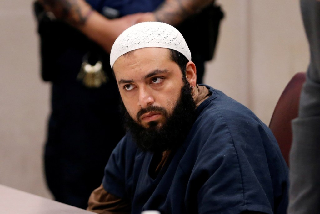 Image: Ahmad Khan Rahimi appears in Union County Superior Court for a hearing in Elizabeth
