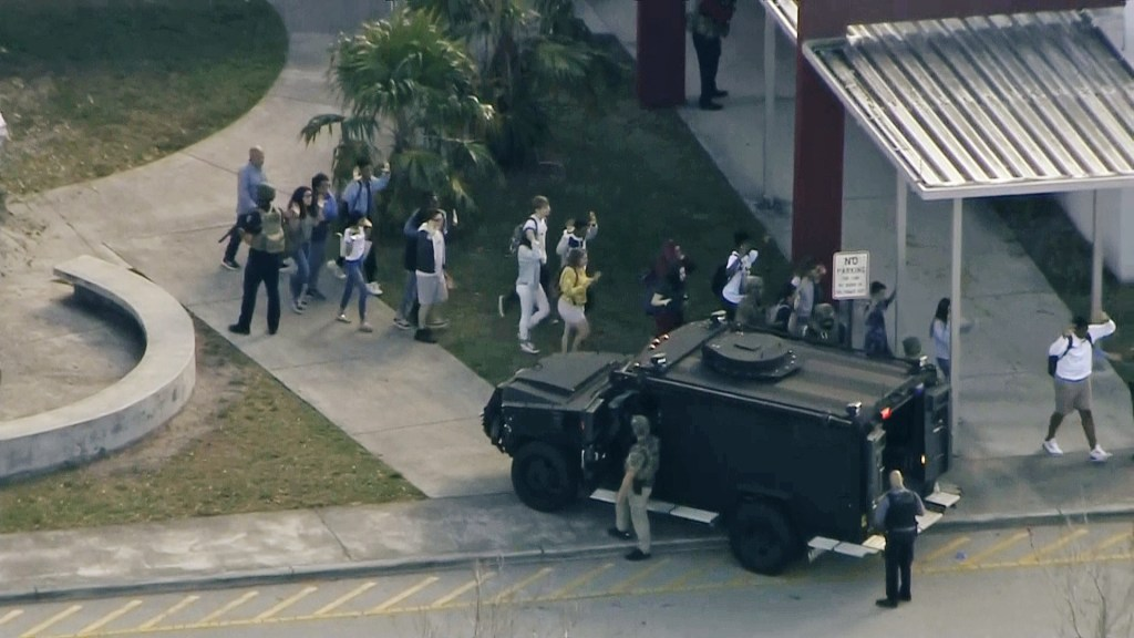 Image: Parkland, Florida, shooting