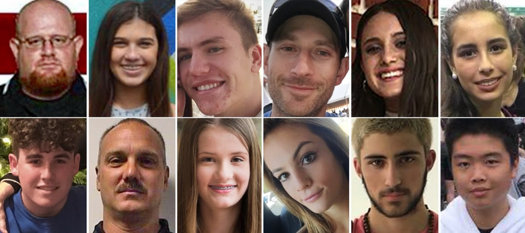 Image: Parkland school shooting victims