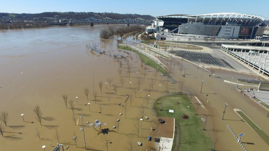 Image: Ohio River in Cincinnati