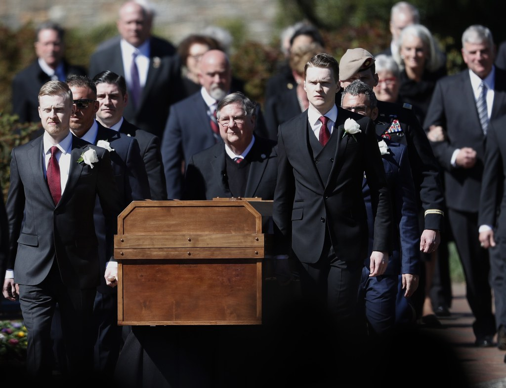 Image: Billy Graham funeral service