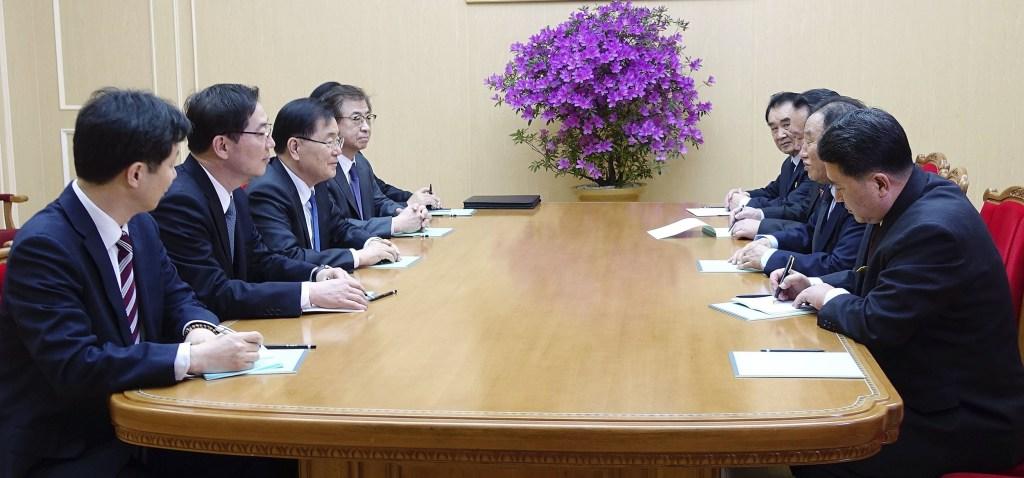 Image: Korean talks