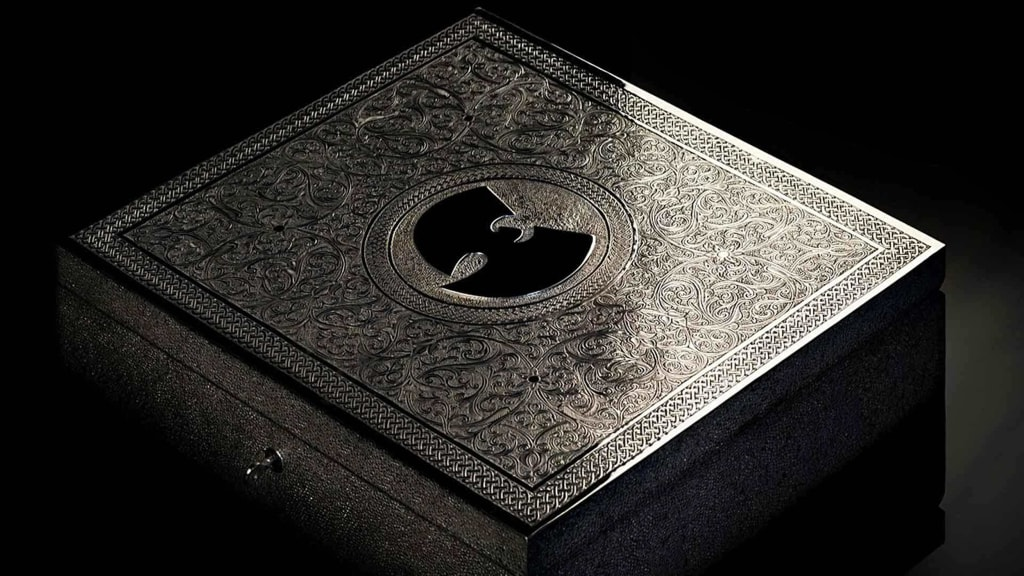 "Image: Wu-Tang Clan album ""Once Upon a Time in Shaolin"""